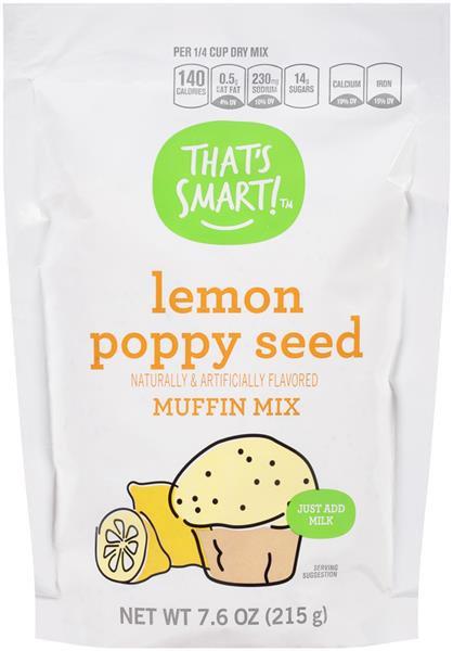That's Smart! Lemon Poppy Seed Muffin Mix