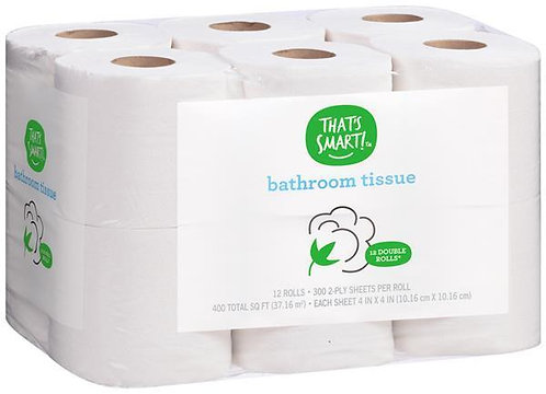 That's Smart Double Roll Bathroom Tissue