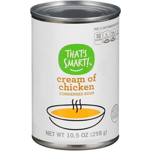That's Smart Cream of Chicken Condensed Soup