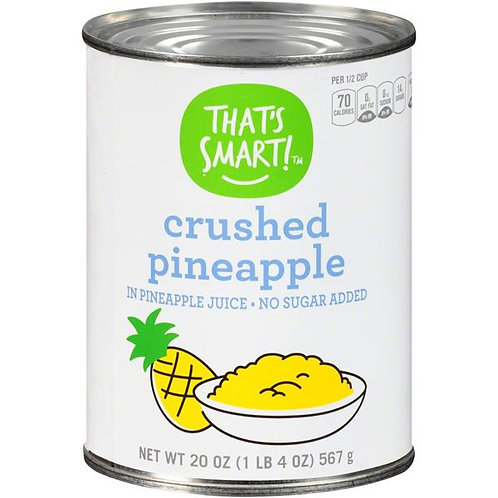That's Smart! Crushed Pineapple In Pineapple Juice