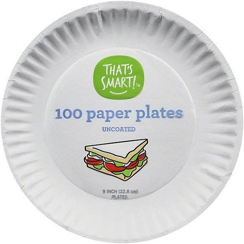 "That's Smart 9"" Paper Plates"
