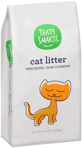 That's Smart! Unscented Non-Clumping Cat Litter