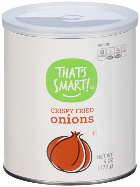 That's Smart! Crispy Fried Onions