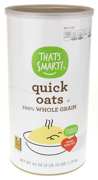 That's Smart! 100% Whole Grain Quick Oats
