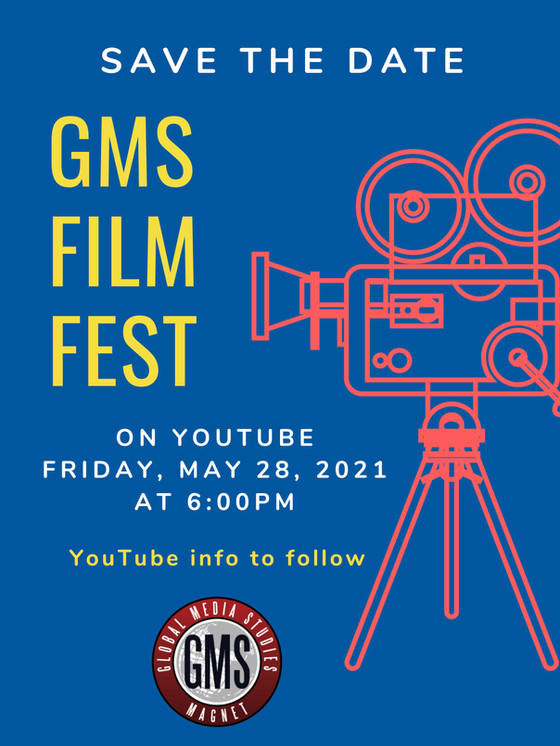 GMS Magnet's Film Festival this Friday!