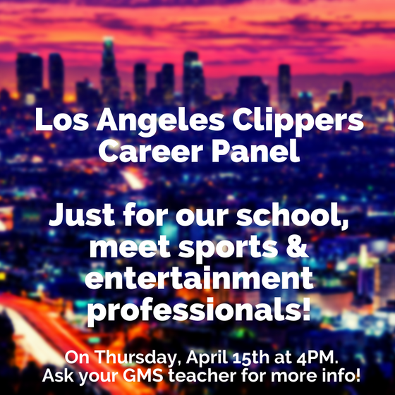 Career Panel with the Los Angeles Clippers!