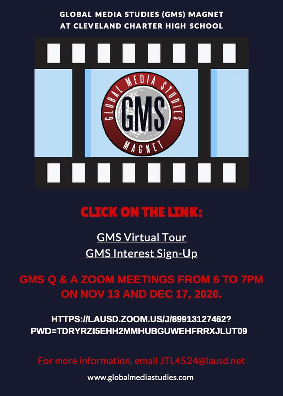 Join the GMS Family!