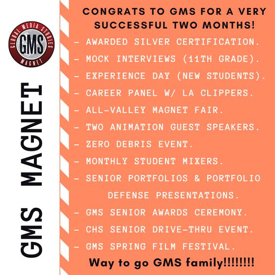 Busy Two Months for GMS!
