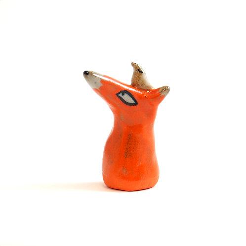 Figurine - Tête de Renard Oiseau