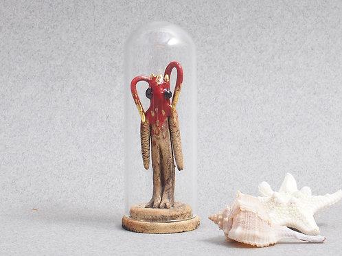 Cloche Miniature - Idole Homard doré