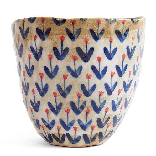 Tasse à Thé - Champ de Fleurs Bleu