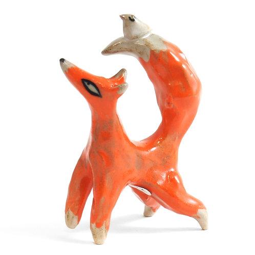 Figurine - Renard Oiseau