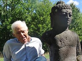 Buddha and friend Aug 2016 photo by Rand