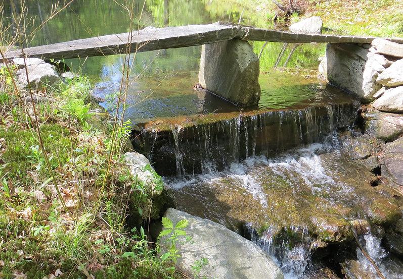 stone bridge over the waterfall.JPG