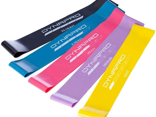 DYNAPRO Mini Resistance Band Set - 10inch or 12inch