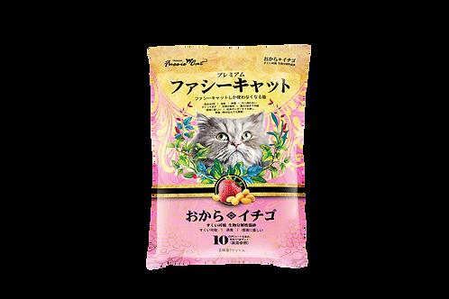 Japanese Soybean Cat Litter 7L (Strawberry)