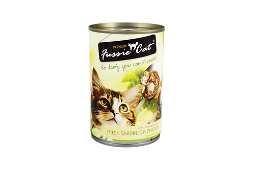 Fresh Sardine & Chicken 400g x 24 cans