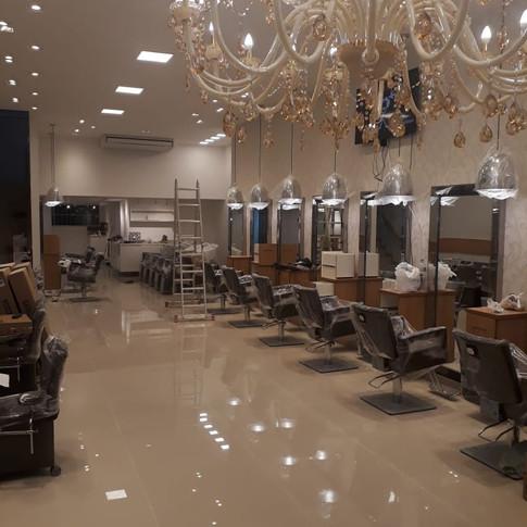 Salão de Beleza - Leblon     Reforma 20 dias