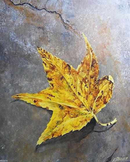 Lizi Beard-Ward -  Sweet Gum Leaf.jpg