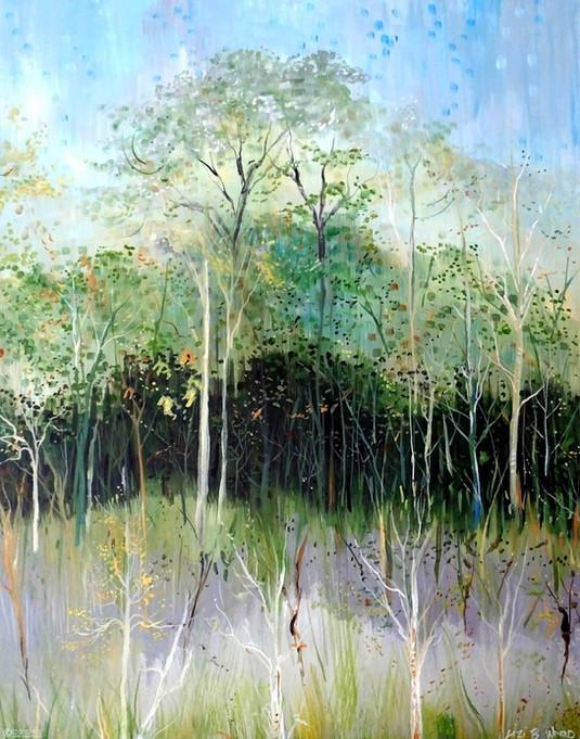 Painting by Lizi Beard-Ward