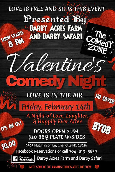 VALENTINES DAY COMEDY AT DARBY ACRES FAR