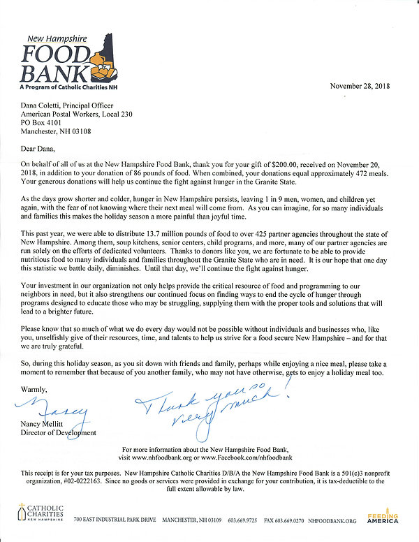 Dec 2018 Food Bank Letter.jpg