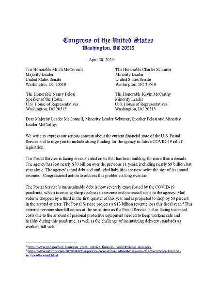 2020-4-30 NH Delegation Letter to Leader