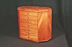 9 Drawer Jewelry Box w Necklace Storage