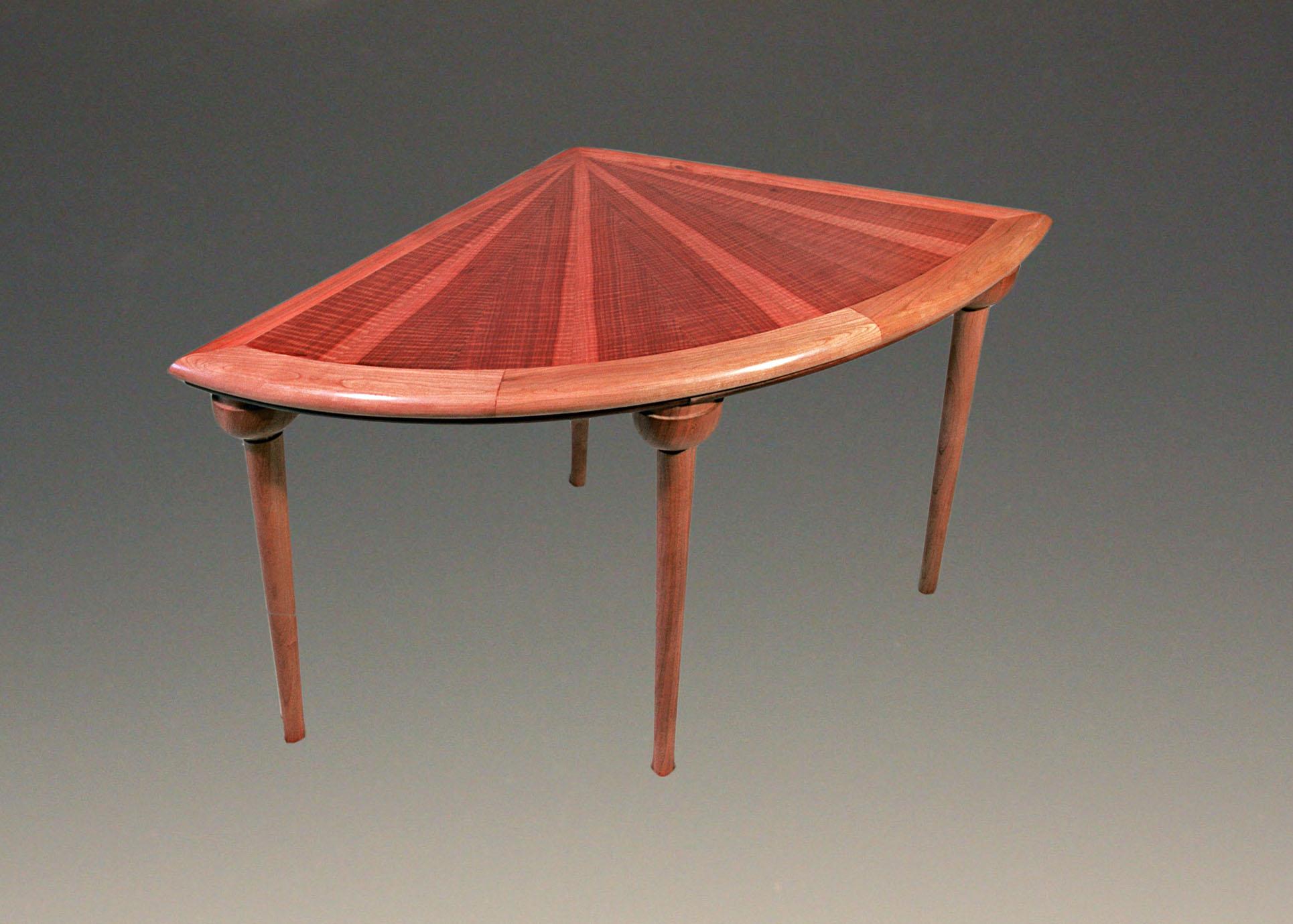 Makore End Table