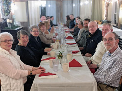The crew at the Valentine's Dinner