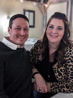 Jason & Tara, enjoying Valentine's