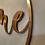Thumbnail: Home Metall Dekoring Kupfer