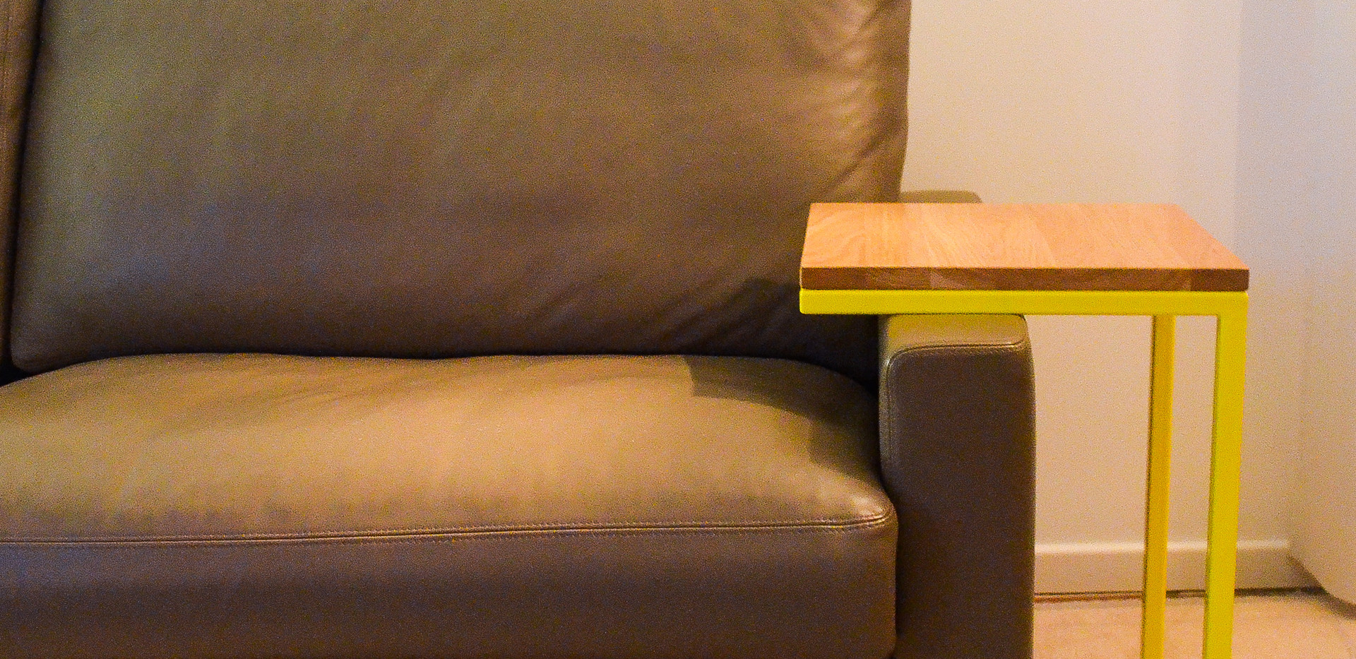 Couch CUBE Gelb