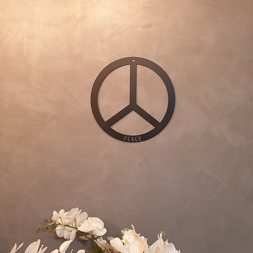 Peace Metall Ring