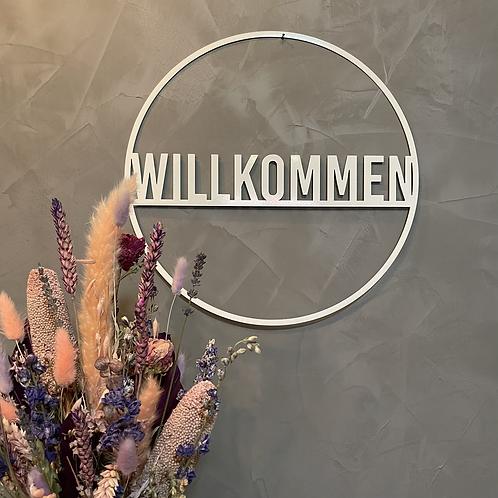 Willkommen Metallring 02