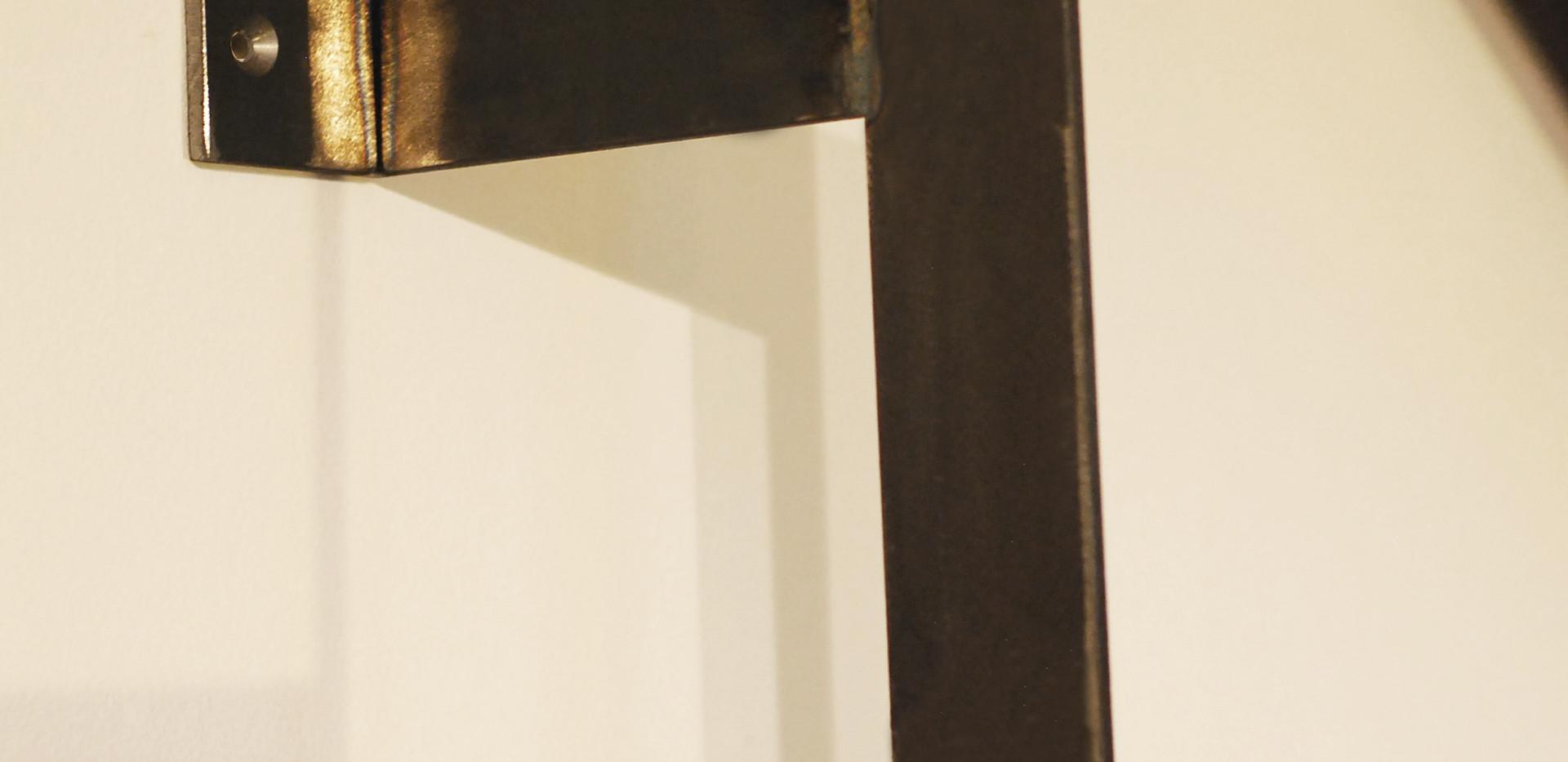 Garderobenleiter Detail