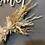 Thumbnail: Blumenkranz, Welcome Metallring, Weiß Beige