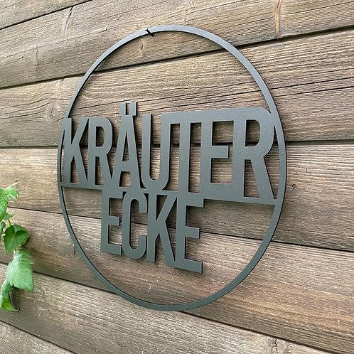 Kräuter Ecke Metallring