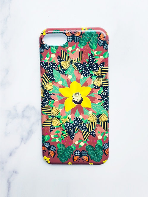 Red and Yellow Butterfly Case