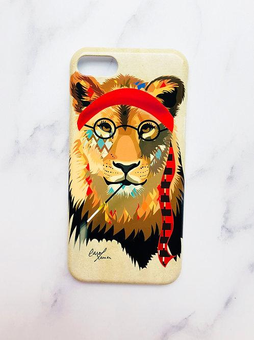 Female Lion iPhone Case