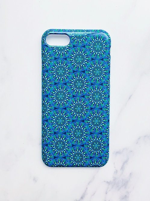 Geometric Circles iPhone Case