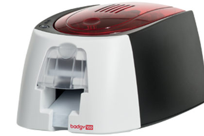 Evolis Badgy100 ID card printer Single side