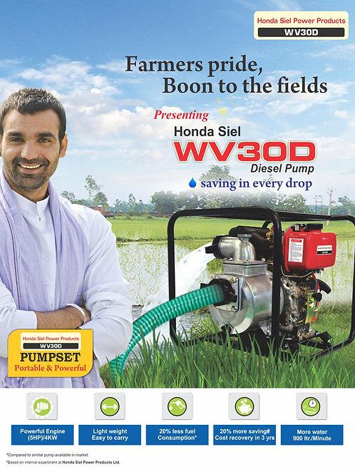 Honda Diesel Water Pumping set WV30D