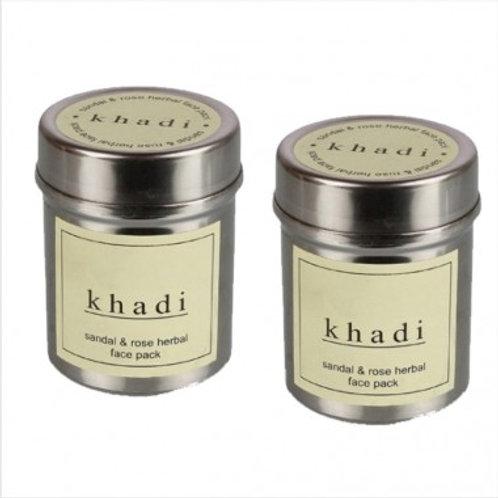 Khadi Natural™ Sandal & Rose Face Pack