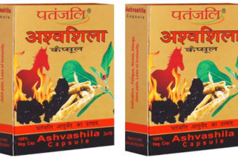 Patanjali Ayurveda Ashvashila Capsule Pack of 2,sexual and general weakness