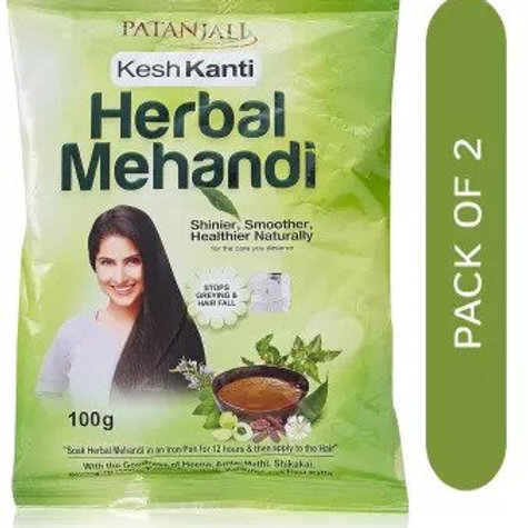 Patanjali Ayurveda Kesh Kanti Herbal Heena Pack of 4