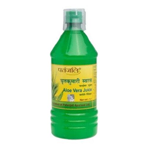 Patanjali Ayurveda Aloe Vera Juice with Fiber, 1000ml