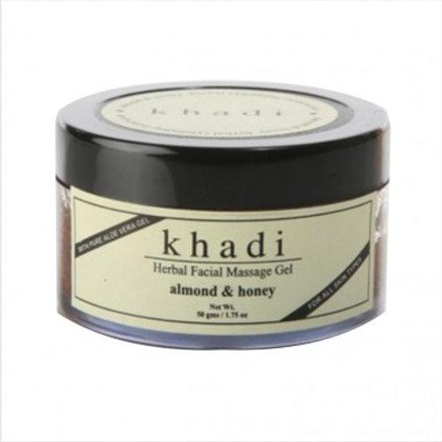 Khadi Natural™ Almond & Honey Facial Massage Gel / 50gms Khadi Natural™ Almond