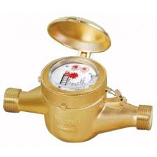 MultiJet 15 mm Cold Water Flow Meter Screwed End Class A