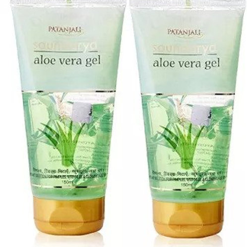 Patanjali Ayurveda Saundarya Aloe Vera Gel Pack of 2, 150ml each